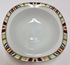 "Mikasa Tamarack Fine China L 5807 Serving Vegetable Bowl 9 3/4"" Southwes... - $29.69"