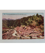 Vintage Colorado Springs Canon City Highway Mountain Road Pikes Peak Are... - $4.99