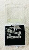 Older Smithsonian Museum Pewter Airplane Pin Hat Tack In Original Box 3/... - $18.32