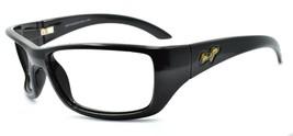 Maui Jim MJ-208-02 Canoes Men's Sunglasses Black 65 mm Wraparound FRAME ... - $48.50