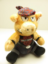 """Harley-Davidson Motorcycles NEW OLD STOCK WITH TAGS 10"""" Tall Plush Hog 1993 - $39.55"""