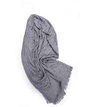Nwt New Calvin Klein Womens Scarf Gray Ck Print - $32.45