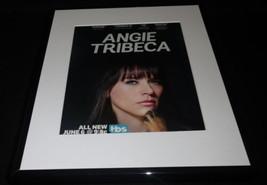Angie Tribeca 2016 TBS Framed 11x14 ORIGINAL Advertisement Rashida Jones - $22.55