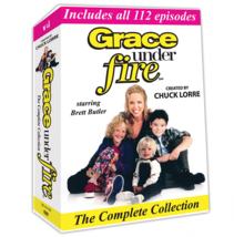 Grace Under Fire The Complete Collection [DVD Set]  Brett Butler TV Show... - $29.99