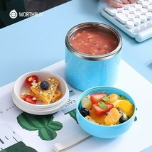 Japanese Stainless Steel Lunch Box Leak-Proof Food Container Portable Ou... - $19.99