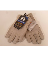 WELLS LAMONT Mens COLD WEATHER Heavy Duty Durable Cowhide Leather Gloves... - $11.95