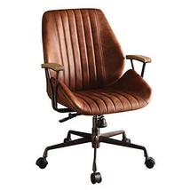 Acme Hamilton Top Grain Leather Office Chair, Cocoa Leather - $777.19