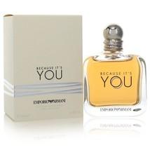 Because It's You by Giorgio Armani Eau De Parfum Spray 5.1 oz (Women) - $152.00