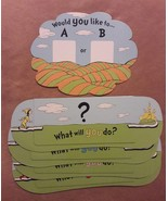 Dr. Seuss OH, THE PLACES YOU'LL GO Game replacement pieces 5 CARD TRAYS - $8.59
