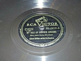1949 RCA Victor Glenn Miller Masterpieces Records Vol II P 189 AA19-1603 Vintage image 2