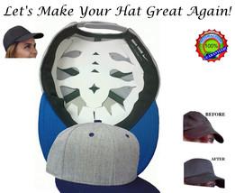 Baseball Cap Web Shaper| Flex fit Cap Liner| Fitted Hat Shaper| Cap Crow... - $10.40+