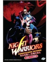 Night Warriors: Darkstalke​rs' Revenge (Vol.1-4 End) Anime DVD SHIP FROM USA