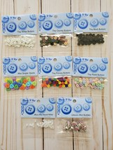 Craft BUNDLE 2:  Mini Button and Mini Bubbles.  Dress It Up