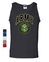United States Army Tank Top Army Crest Patriotic - $10.86