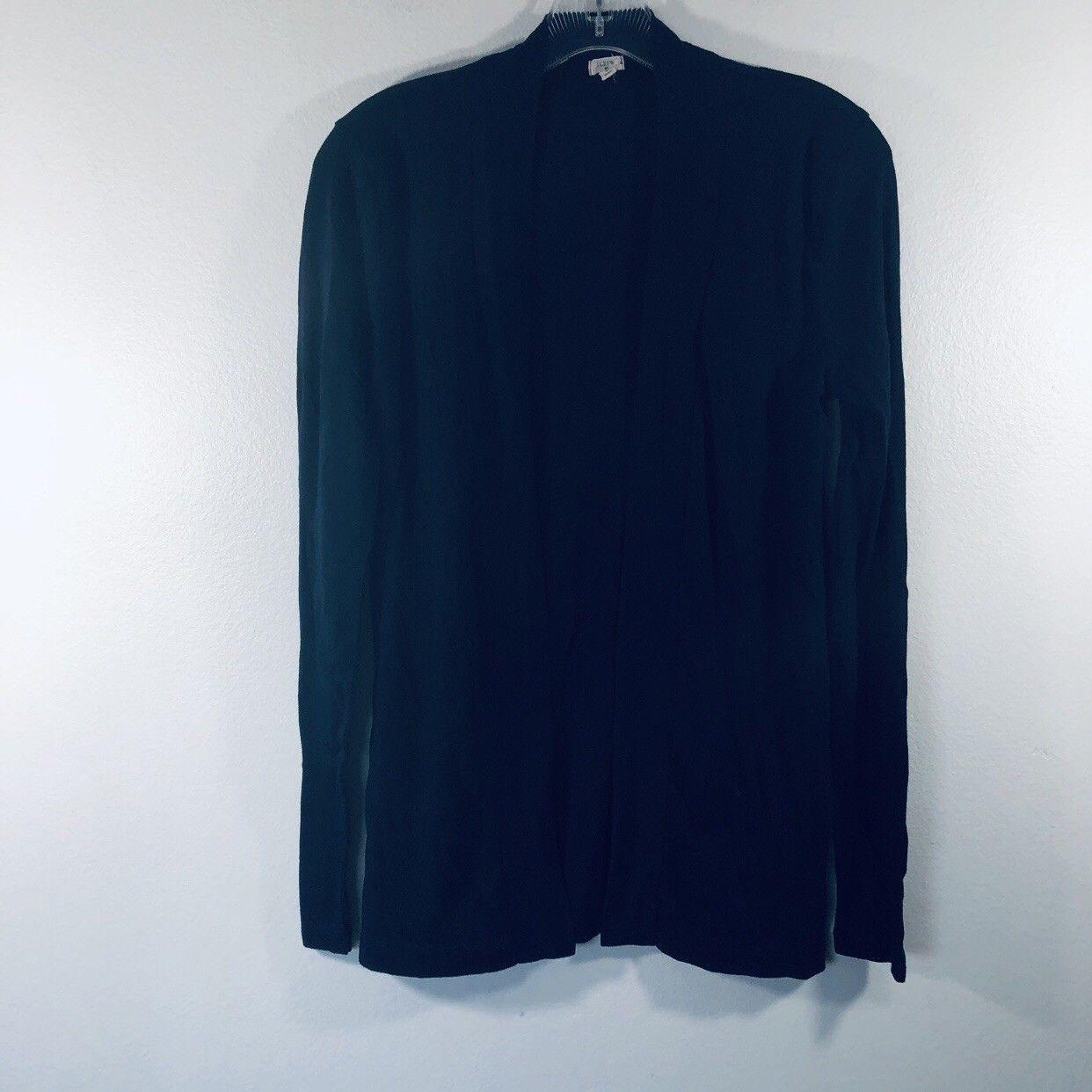 New J Crew Womens Deck Striped Crewneck Dip Dye Sweater Long Sleeve Blue White