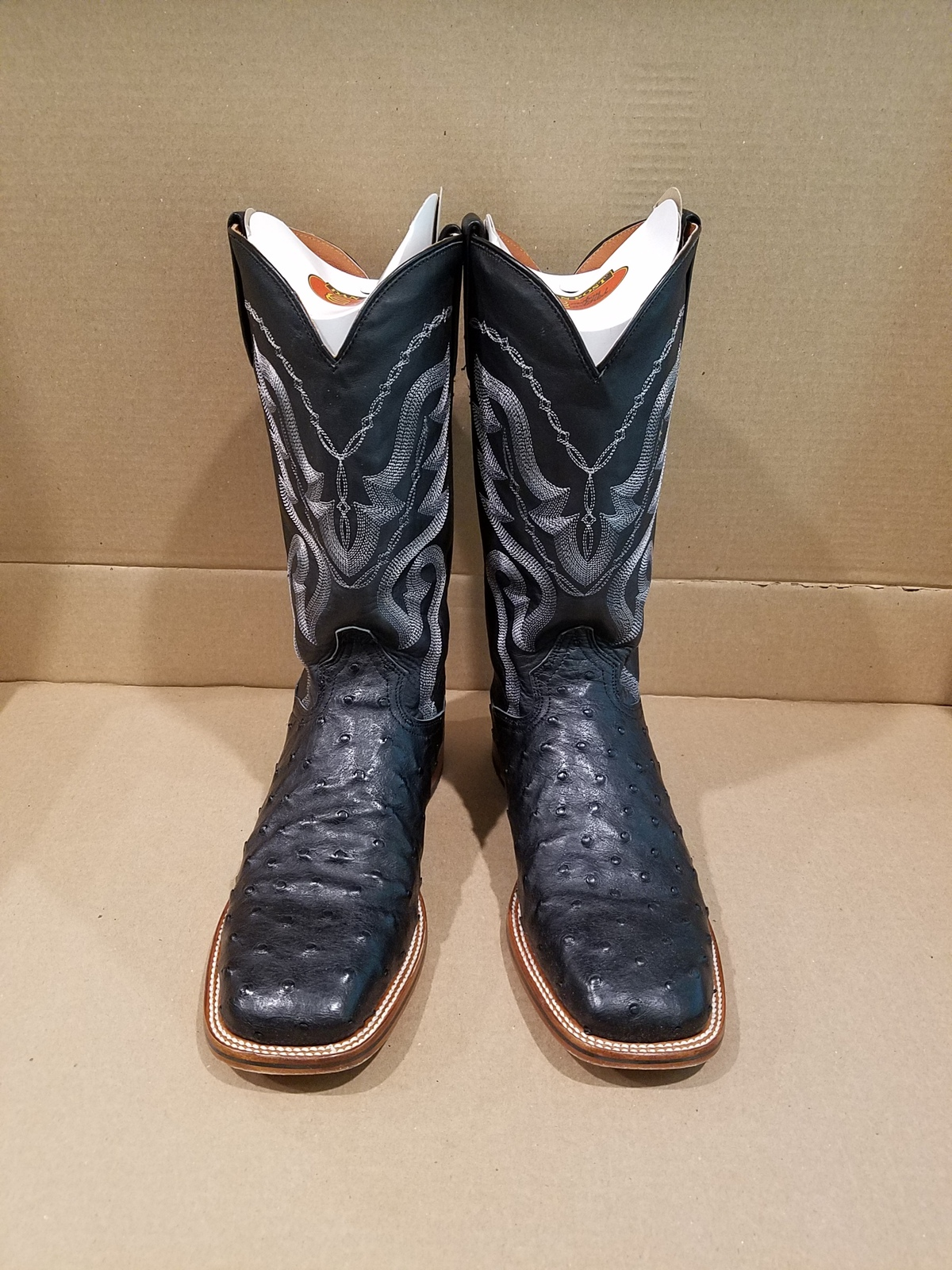96d96cfe046 Dan Post Chandler Full Quill Ostrich Cowboy and 16 similar items