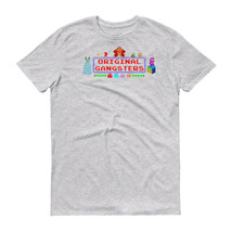 1980s Arcade Original Gangster T Shirt Funny Video Game Gamer Computer G... - $13.49+