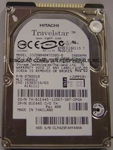 40GB 2.5in 9.5MM IDE 44PIN Hard Drive IBM IC25N040ATCS05-0 Tested Free USA Ship