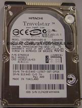 40GB 2.5in 9.5MM IDE 44PIN Hard Drive IBM IC25N040ATCS05-0 Tested Good