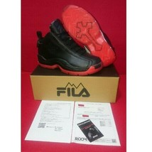FILA 2PAC all eyes on me collaboration 27 cm/ US 9 Black Red Hip Hop Rare - $342.53
