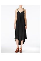 Maxi Black Dress Bora Bora Tie Strap Casual Size XXS $89 BAR III - NWT - $9.99