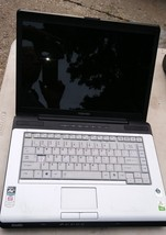 7WW03 TOSHIBA SATELLITE A215 LAPTOP COMPUTER, SOLD AS IS, UNTESTED, 5#2 ... - $29.47