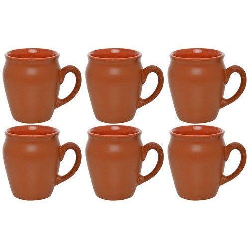 Handcrafted kitchen serveware Mug Tea cup Milk Coffee Beer Earthenware ceramic - $31.68