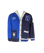 Ralph Lauren Polo big Boys Varsity P wing  Cardigan Sweater Medium 10-12 - $49.49