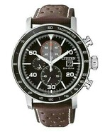 Citizen Eco Drive Japan Movement Black Dial Men`s Watch New With Box - $295.11