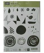Stampin Up! Swirly Bird Stamp Set of 24 - $19.79