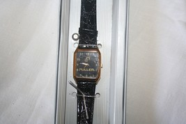Womens FULLER Watch Japan Mvmt Goldtone with Leather Band - $24.75
