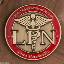 LPN LICENSED PRACTICAL REGISTERED NURSE CURA PERSONALIS CADUCEUS  CHALLE... - $16.24