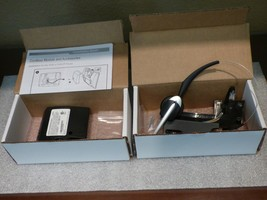 MITEL Cordless Headset Bundle p/n  50005712. Complete w/new ear muff!  - $221.56