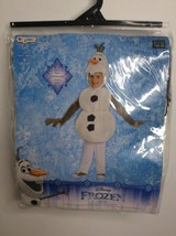 Disney Frozen Olaf Deluxe Toddler Disguise Halloween Dress Up Costume Size 3T-4T - $22.43