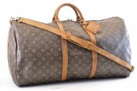 LOUIS VUITTON Monogram Keepall Bandouliere 60 Boston Bag M41412 LV sa818 - $498.00