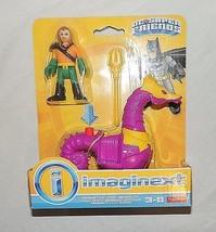 New Fisher Price Imaginext DC Super Friends Aquaman Seahorse Long Hair J... - $14.84