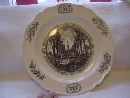 "Wedgwood-Williamsburg Restoration-1953-10"" plate-The Capitol - $25.00"
