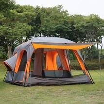 Luxury Tent Ultra Large 1 Hall 2 Bedroom Outdoor Waterproof Camping Part... - $525.20