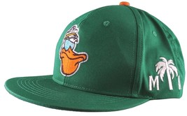 Cousins Miami Cool Pelican Fisherman Captain Palm Tree Snapback Baseball... - £11.22 GBP