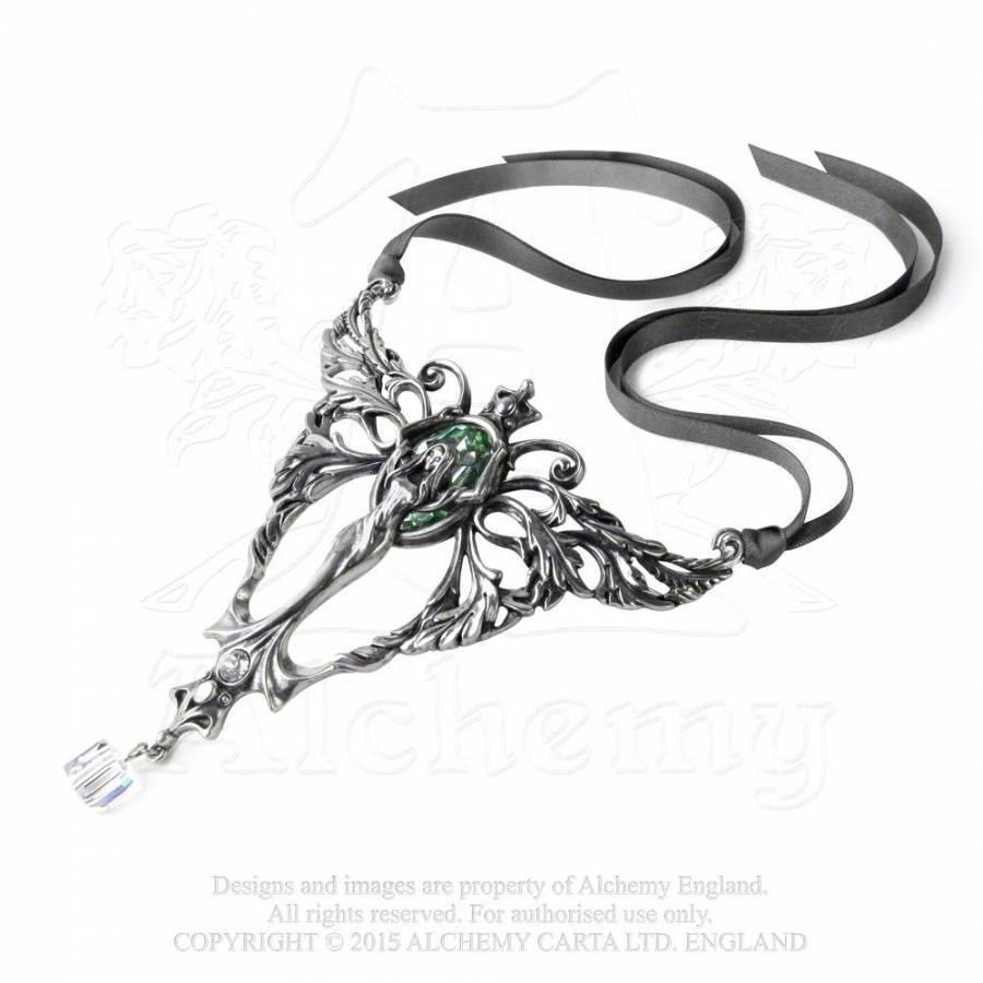 LAST CHANCE! La Belle Esprit Absinthe Green Fairy Necklace P727 Alchemy Gothic