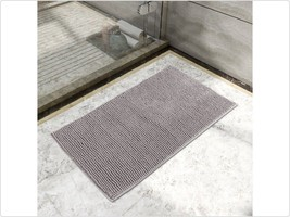 "Lifewit Non-slip 20""x32"" Microfiber Chenille Bath Mat Bathroom Shower Ru... - $24.75"