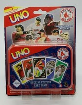 UNO Boston Red Sox Special Edition Card Game 2005 Deluxe Collector's Tin... - $24.63
