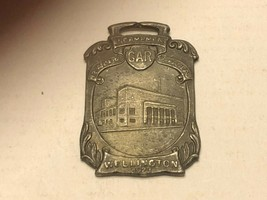 Vintage Watch Fob - Memorial Auditorium Wellington - $30.00