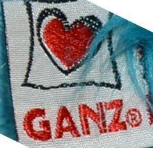 GANZ H11588 Bright Dark Blue Sparkly Papillon Pup 8 Inch image 3