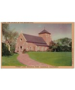 Postcard Church Of The Recessional Forest Lawn Memorial PK, Glendale, California - $10.84