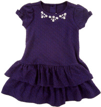 Gymboree Purple Jewel Neck Dress sz 2T  NEW $45 - $18.00