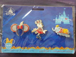 Minnie Mouse Main Attraction Dumbo Pin Set  - $40.00