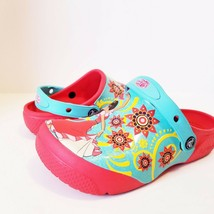 Crocs Disney Elena Of Avalon Slip On Sandals Youth Size 2 Junior  - $16.32