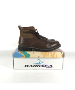 Darksea Boots Men's size 11 Leather Cognac AW 683093 - $107.91