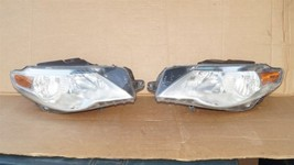 09-12 VW Volkswagen CC Halogen Headlight Head Lights Matching Set L&R